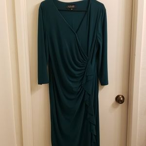 A GREEN DRESS BY BLACK LABEL BY EVAN PICONE